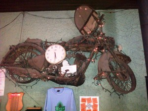 A Wall clock with a differance