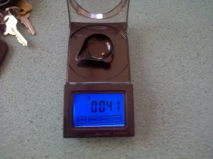 Can you believe it was just 0.041 grams.